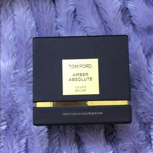 TOM FORD Amber Absolute Candle BOX ONLY